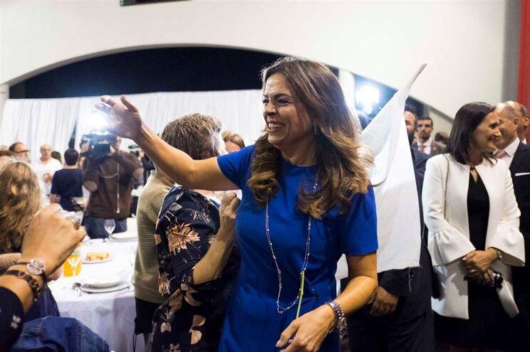 Luísa Salgueiro, deputada do PS e candidata à presidência da Câmara de Matosinhos