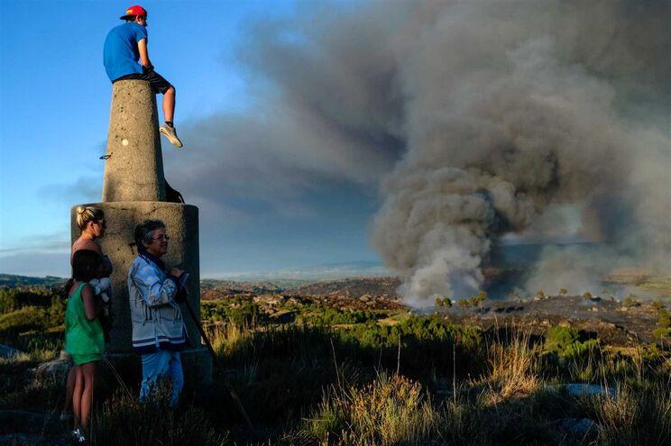 Incêndio em Mangualde