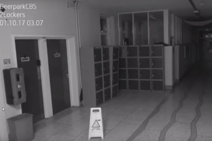 Vídeo arrepiante aterroriza escola irlandesa