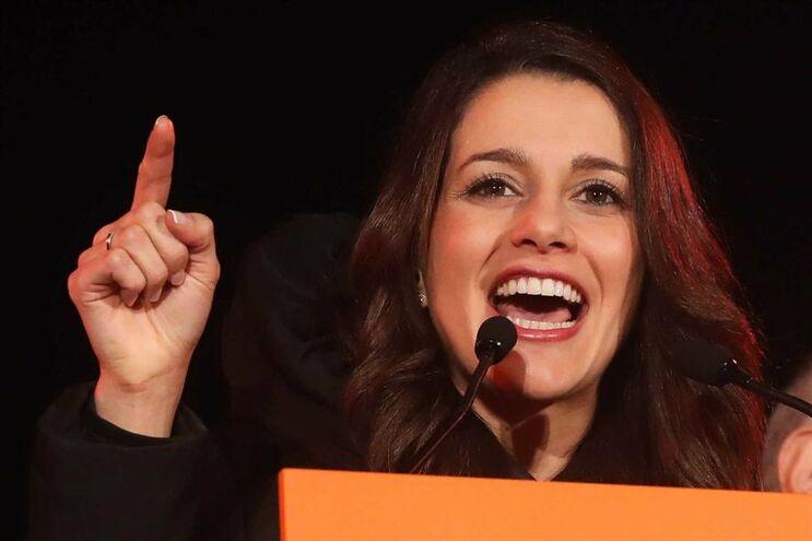 Inés Arrimadas, líder catalã do Cidadãos