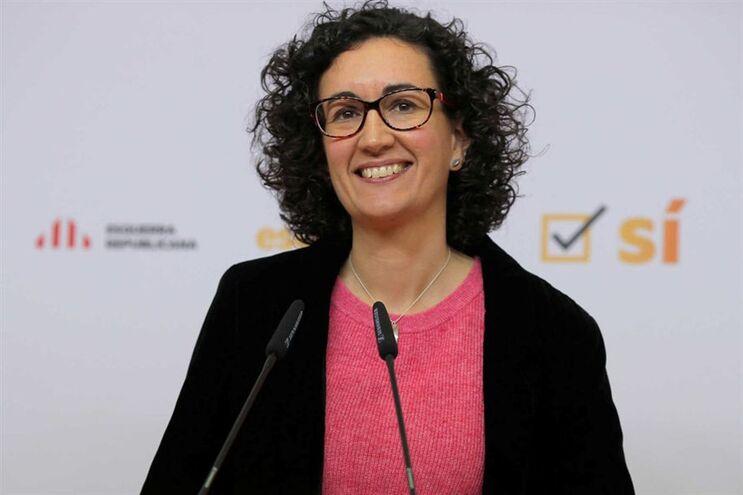 Marta Rovira, segunda dirigente da Esquerda Republicana da Catalunha (ERC)