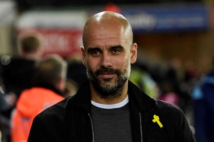 Treinador do Manchester City, o espanhol Pep Guardiola