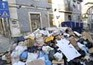 Montes de lixo pelas ruas de Lisboa