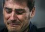 Iker Casillas sozinho na hora da despedida do Real Madrid