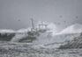 Fotógrafo amador captou naufrágio na Figueira da Foz