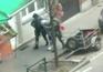Novas imagens do momento da detenção do terrorista de Paris