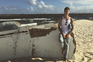 O cantor tem partilhado no Instagram vários momentos das férias