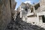 Alepo em ruínas