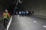 Cerca de 1200 pessoas atravessam o Túnel do Marão este sábado de manhã. Primeiro foram os ciclistas,