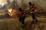 Bombeiros sem tréguas no combate às chamas na última semana