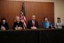 Donald Trump Paula Jones, Kathy Shelton, Juanita Broaddrick e Kathleen Willey