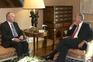 Presidente da República com o presidente do Conselho Económico e Social, António Correia de Campos