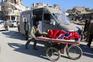 Civis de Alepo tentam escapar ao conflito