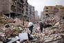 Civis tentam escapar à ofensiva em Alepo