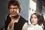 """Harrison Ford e Carrie Fisher na saga """"Guerra das Estrelas"""""""