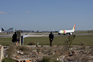 Pista do aeroporto Humberto Delgado, em Lisboa