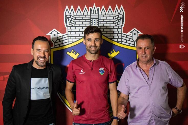 Roberto com o empresário Jorge Teixeira e Francisco Carvalho