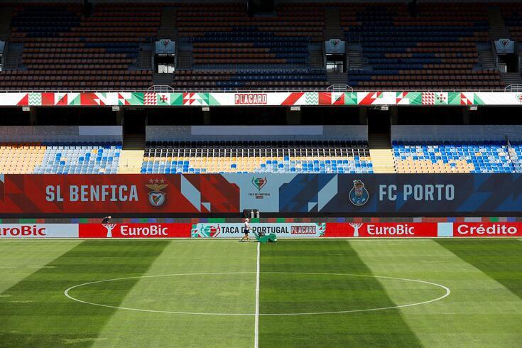 Benfica-FC Porto na final da Taça de Portugal