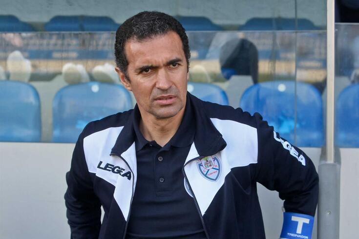 Filipe Rocha, treinador do Feirense