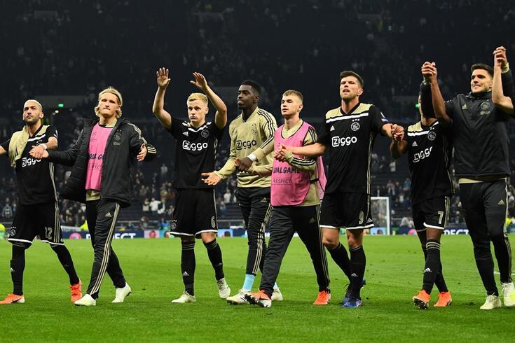 Ajax ficou mais perto da final da Liga dos Campeões