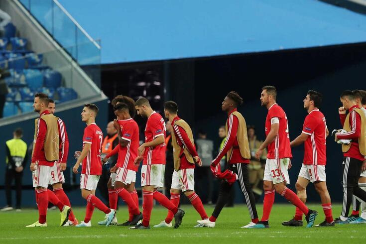 Benfica ainda sem vitórias na Champions