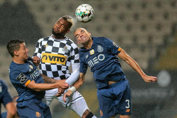 Benguché no Boavista-FC Porto
