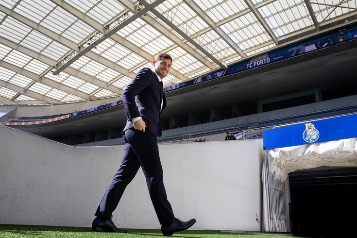 Casillas feliz com a liderança do FC Porto