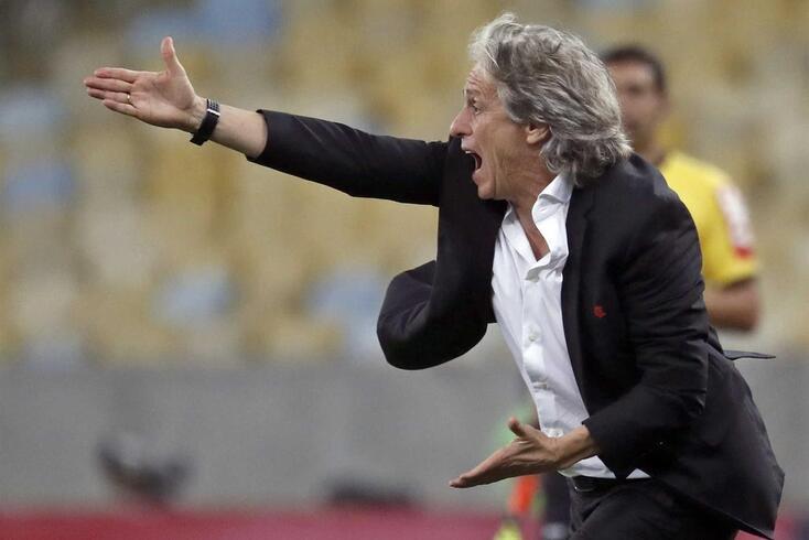 Jorge Jesus, treinador do Flamengo.
