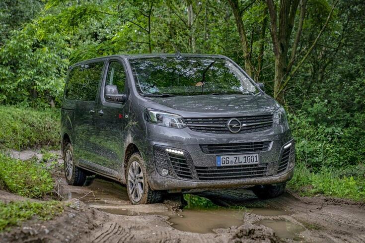 Opel Zafira Life também faz todo-o-terreno