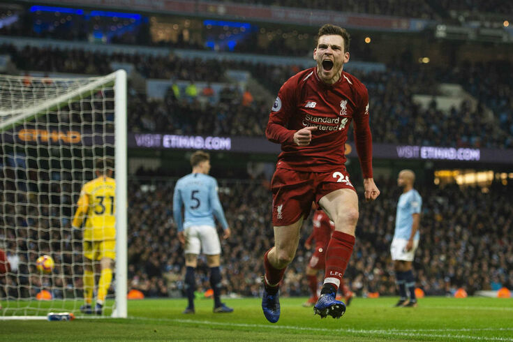 Andy Robertson acerta renovação com o Liverpool