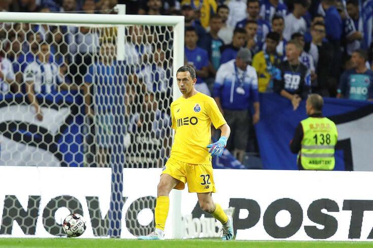 Marchesín, guarda-redes do FC Porto