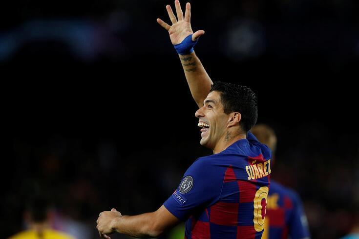 Luis Suárez era uma das figuras do Barcelona