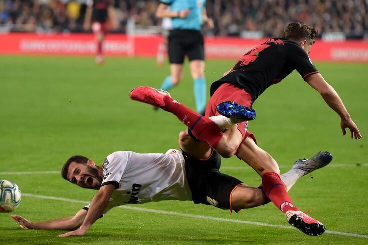 Valência e Atlético lutaram muito, mas nenhum venceu