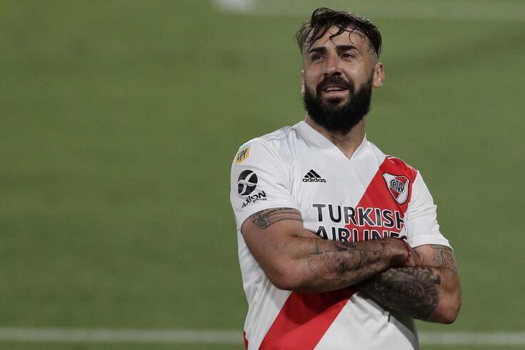 Lucas Prato, atacante argentino do River Plate