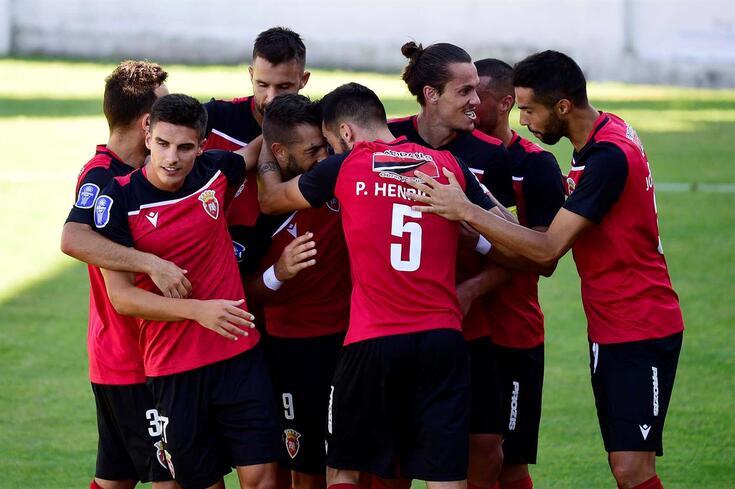 O Penafiel eliminou o Tondela da Taça da Liga.