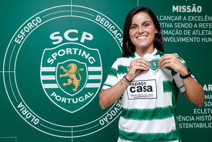 """Mónica Mendes reforça Sporting: """"Nunca fechei as portas a Portugal"""""""