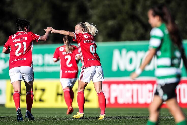 Braga e Sporting, duas das principais equipas portuguesas também no futebol feminino