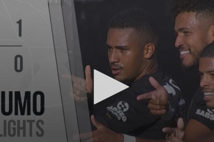 A vitória do Gil Vicente frente ao Portimonense resumida em um minuto