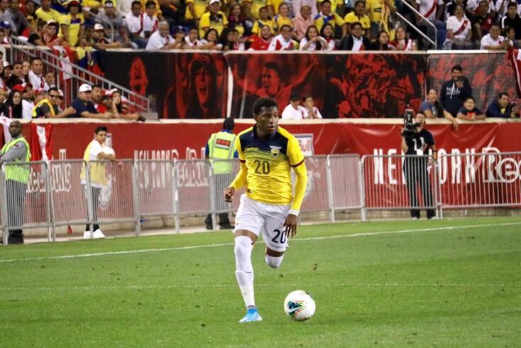 Plata marcou no triunfo do Equador sobre a Bolívia