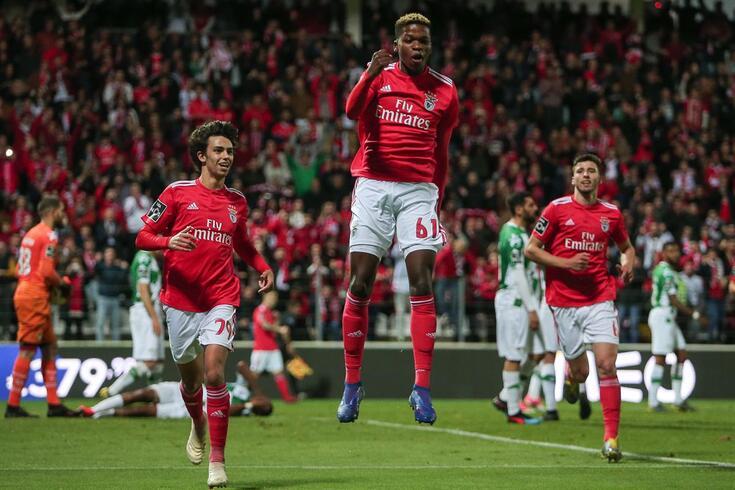 Florentino marcou um golo ao Moreirense