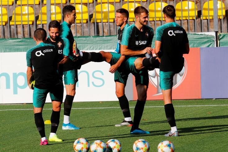 Portugal joga pela primeira vez na Lituânia