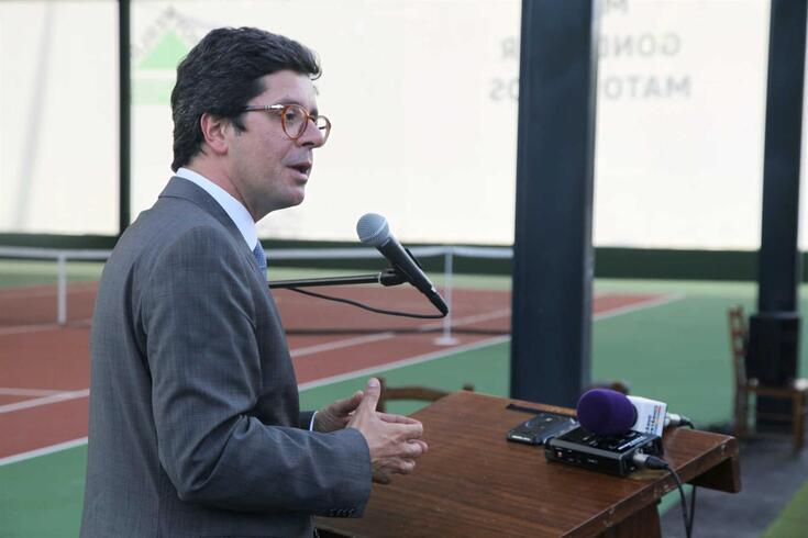 João Paulo Rebelo, secretário de Estado da Juventude e do Desporto