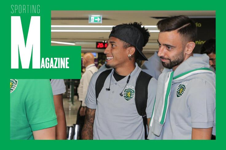 Magazine Sporting: testes negativos e incógnita no futuro de Bruno