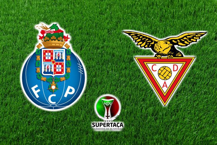 DIRETO | FC Porto-Aves: dragões conquistam a Supertaça