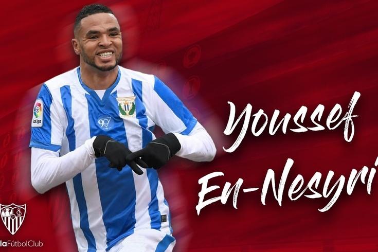 Youssef En-Nesyri no Sevilha