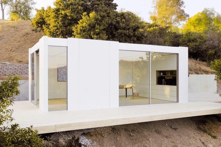 Estas casas modulares crescem sempre que precisa
