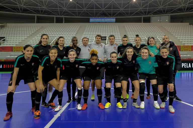 Portugal joga este domingo para fazer história no Europeu feminino 4f61e29d0d025