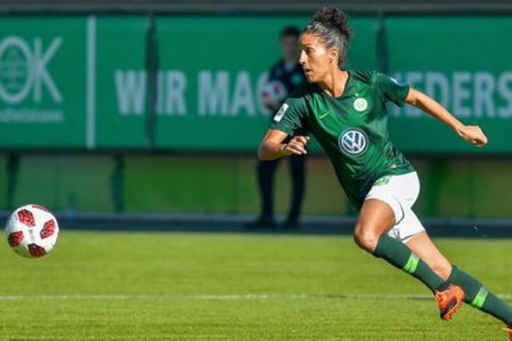 Cláudia Neto ao serviço do Wolfsburgo