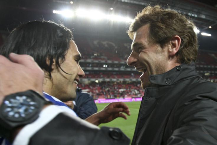 Falcao e André Villas-Boas