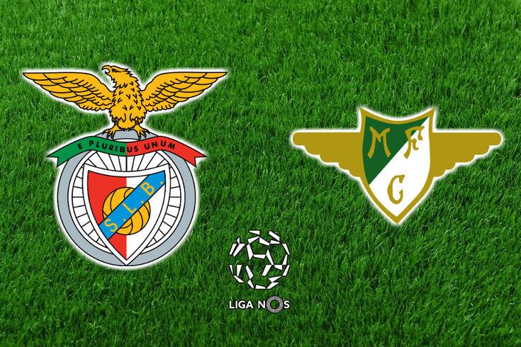 DIRETO   Benfica-Moreirense